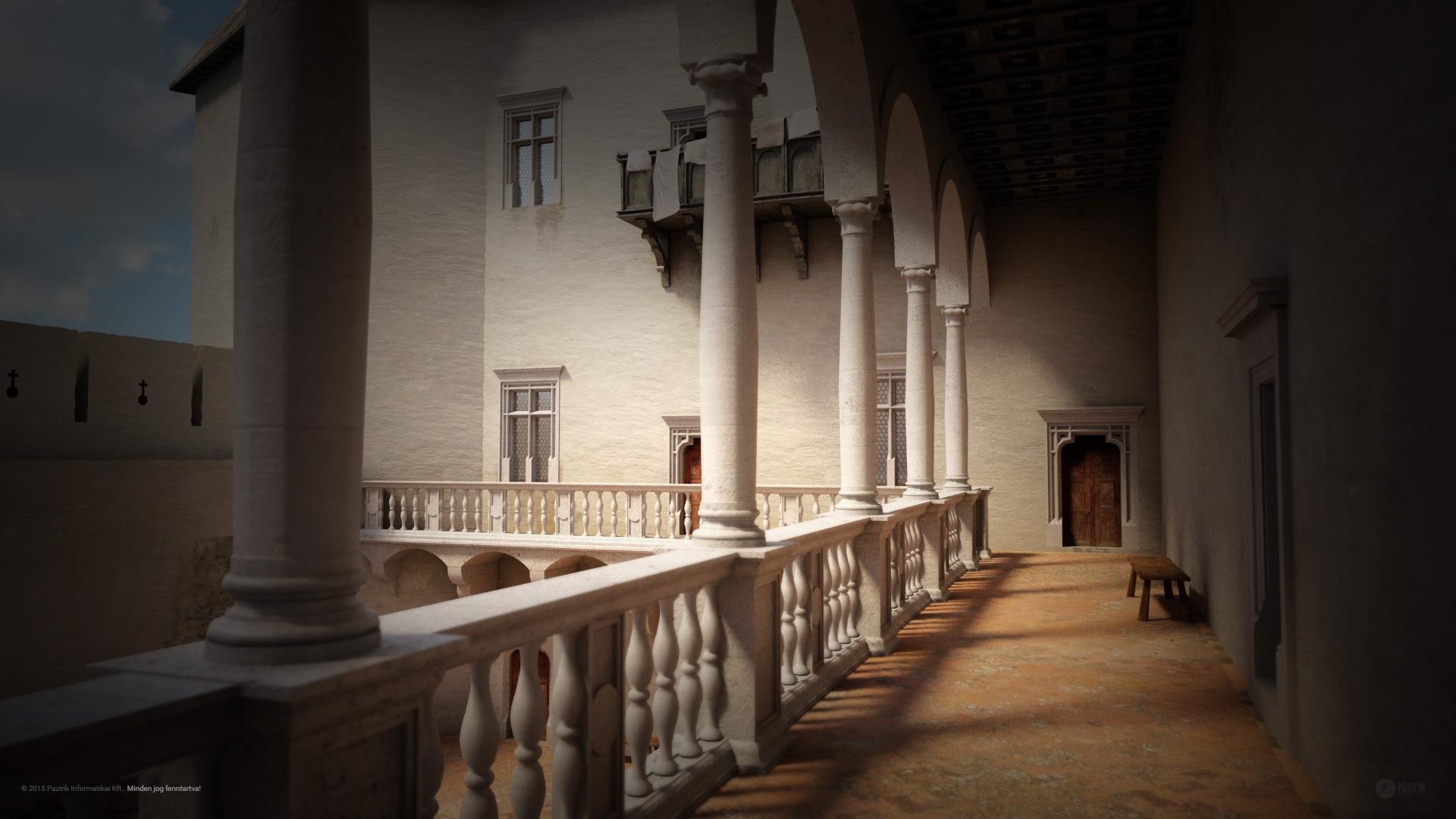 A Simontornyai vár a reneszánsz korban