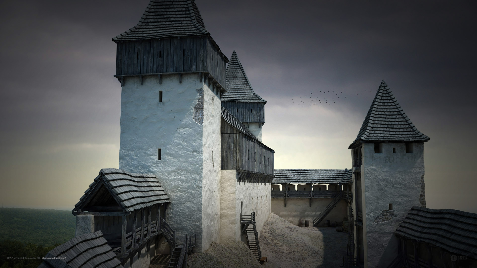 Főúri rezidenciák a középkorban