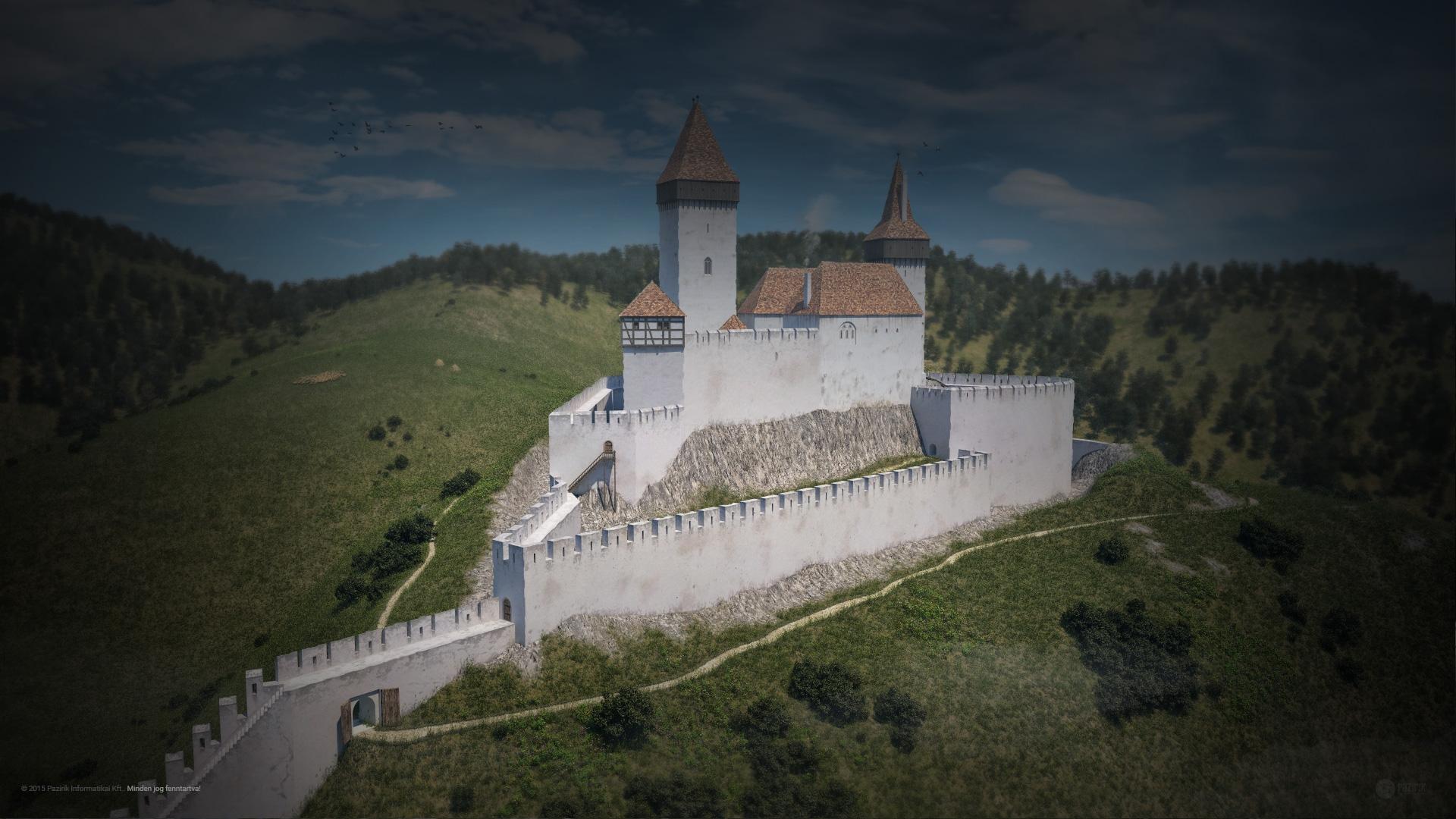 Visegrádi vár, mint királyi rezidencia